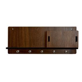 Porta Chave Caixinha 6mm Parede Retro Vintage 5 Chaves 2741