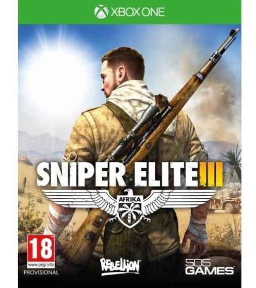 Jogo Sniper Elite I   Xbox One Mídia Física   Vitrine