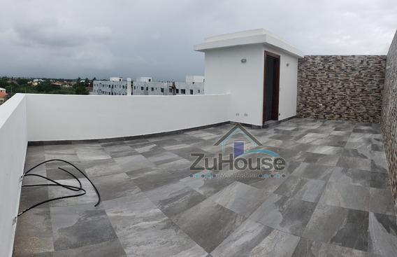 Penthouse En Proyecto Con Piscina En Villa María Stgo Wpa122