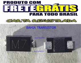 M7 - 1n4007 - In4007 -kit Com 100 Unidade Diodo Smd V 1000