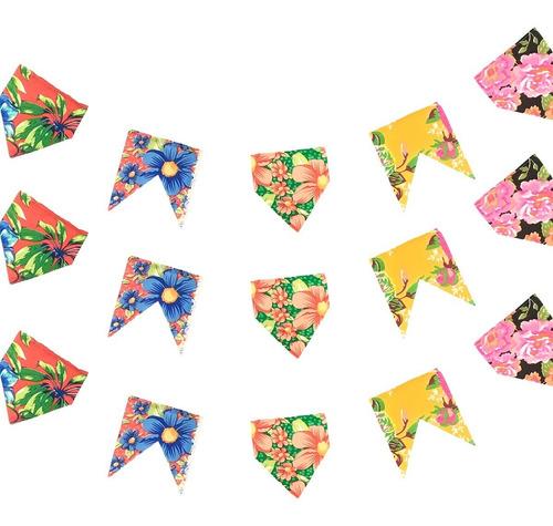 Bandeirinha De Tecido Festa Junina 2,6 Metros Envio Imediato