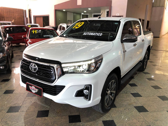 Toyota Hilux 2.8 Srv 4x4 Cd 16v Diesel 4p Automático 2019