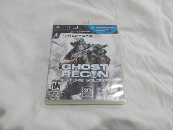 Jogo Ghost Recon Future Soldier Playstation 3 Ps3 Mid Física