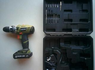 Taladro Atornillador Inalámbrico Usb Philco 14.4 V Bateria