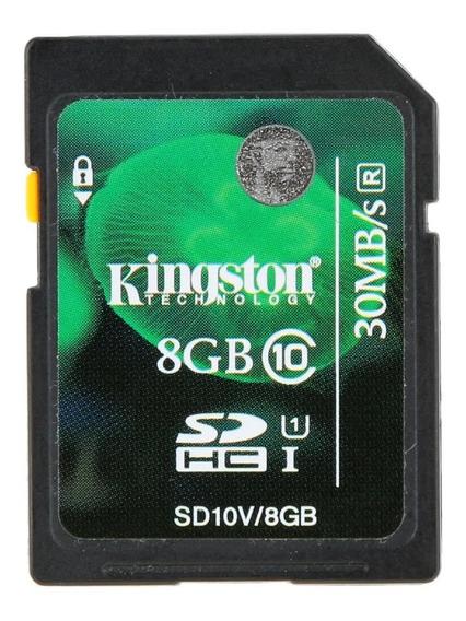 8g Sd Cartão Genuíno Original Kingston 8g