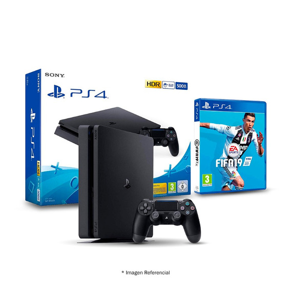 Consola Sony Play Station Ps4 500gb Fifa 19