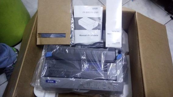 Impressora Matricial Epson Fx-890 Branco. Novo