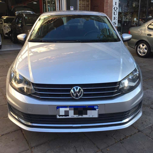 Volkswagen Polo 1.6 Automático 2017 Gris Full