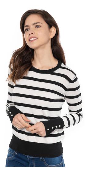 Sweater Cuello Redondo Quarry