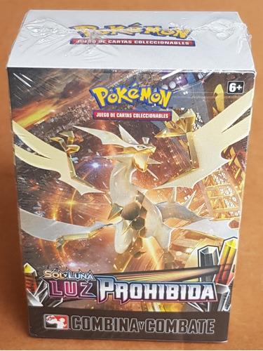 Pokemon Tcg Combina Y Combate Sol Y Luna Luz Prohibida Nueva