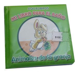 Libro Para Baño Animales De Granja Nuevo