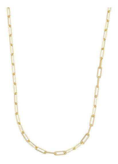 Lindo Cordao Cartie 60cm Masculina Banhado Ouro18k + Brinde