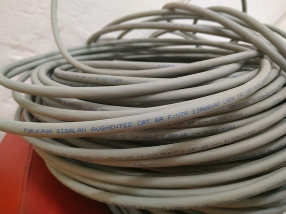 Cable Ftp Cat 6a Furukawa 230 Metros