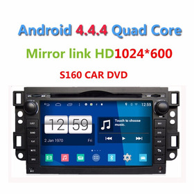 Multmídia Captiva S160 Android 4.4.4 Tv 3g Wifi Gps Airplay.