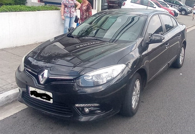 Renault Fluence Dynamic Plus 2016 Preto 46.000km