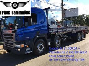 Scania P310 8x2 Bitruck 15/15 Carroceria11 Metros