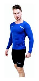 Conjunto Short E Camisa Masculino De Compressão