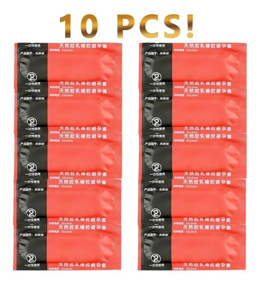 Preservativos - Camisinhas Sexo 10 Pçs ! 0,02 Mm Extra Fina