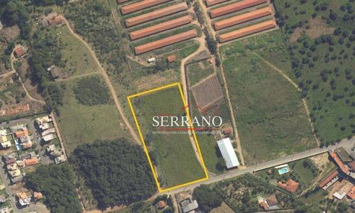 Terreno, 10000 M² - Venda Por R$ 10.000.000,00 Ou Aluguel Por R$ 6.000,00/mês - Vila Fontaine - Vinhedo/sp - Te0426