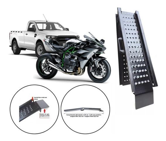 Rampa Subir Moto Grande 600 750 1000 Caminhonete - Dobrável