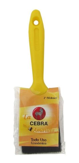 Brocha Práctica Cebra Amarilla 2