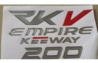 Calcomanias Kit Rkv200 Alto Relieve