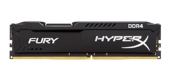 Memoria Kingston Ddr4 8gb 2400mhz Hyperx Fury Original