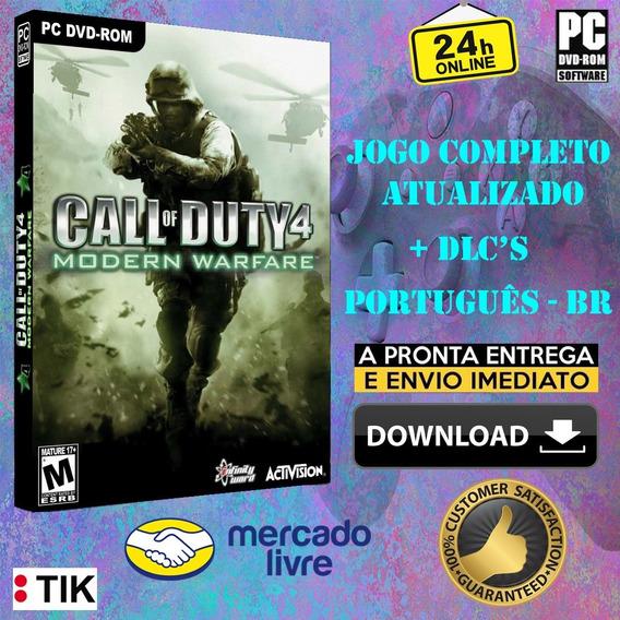 Call Of Duty 4 Modern Warfare - Completo - Português