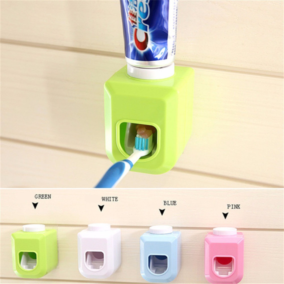New Touch Automatic Auto Squeezer Toothpaste Dispenser Hands