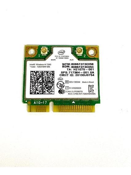 Placa Wireless + Bluetooth 4.0 Intel 7260hmw 2.4ghz