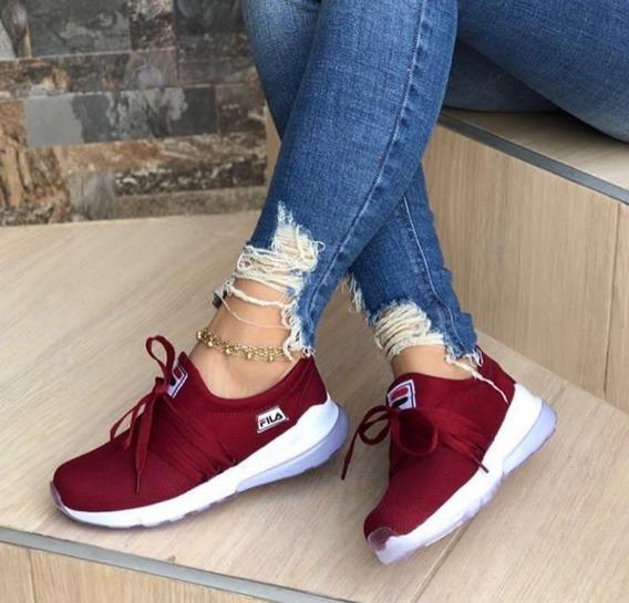 Zapatos Deportivos Fila De Dama