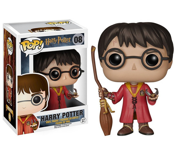 Funko Pop Harry Potter Boneco 10cm Vinil Filme - 08