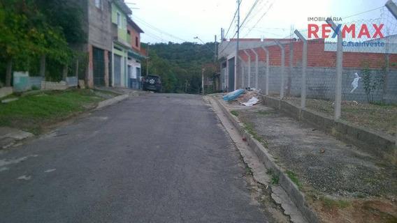 Terreno Residencial À Venda, Jardim Monte Verde (caucaia Do Alto), Cotia. - Te0046