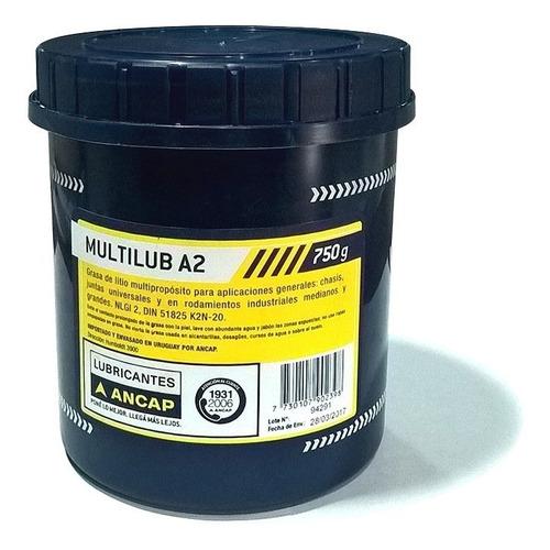Grasa Multiproposito Litio Multilub A2 Ancap 750g Js Ltda