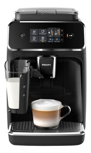 Imagen 1 de 2 de Cafetera Philips Series 2200 EP2230 super automático negra expreso 220V