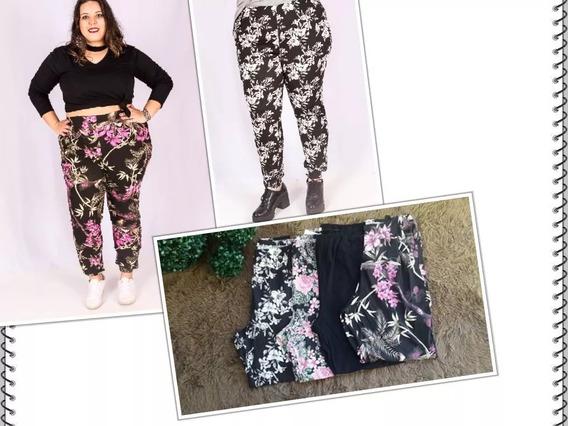 Calça Jogger (pijama) Plus Size