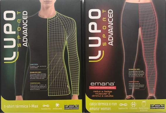 Conjunto Térmico Lupo Calça X-run E Camiseta I-max Feminina!
