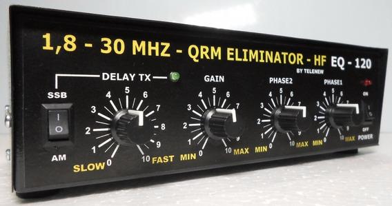 Qrm Eliminator Hf Eq-120 - Eliminador De Ruido - Qrm Killer