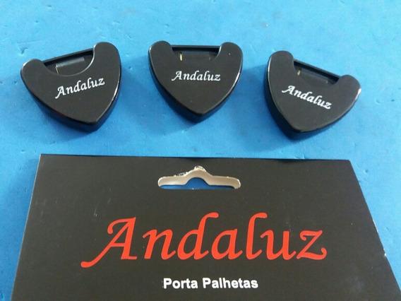 Porta Palhetas Andaluz De Guitarra,baixo,violão (kit Com 3)