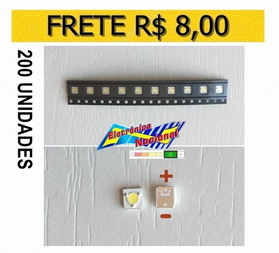 Led Smd Tv Samsung Original 3v 1w 3535 S. F Fh 200 Pçs Carta
