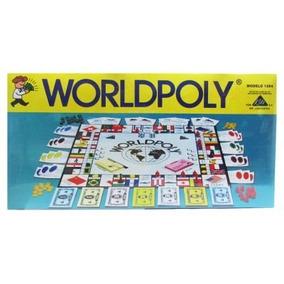 Juego De Mesa Monopolio Worldpoly Niños Familiar
