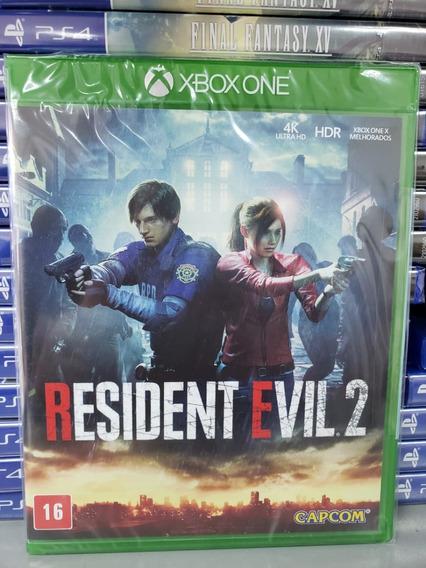Resident Evil 2 Xbox One Mídia Física Novo Lacrado Português