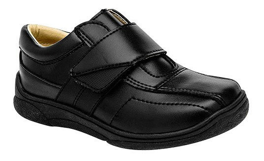 Sneaker Casual Escolar Sint Negro Niño Cosmos J42698 Udt