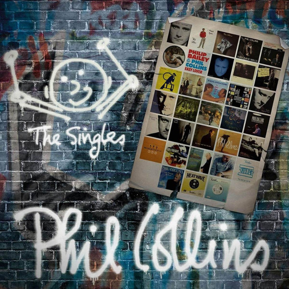 Phil Collins Singles Vinilo Doble Nuevo Importado