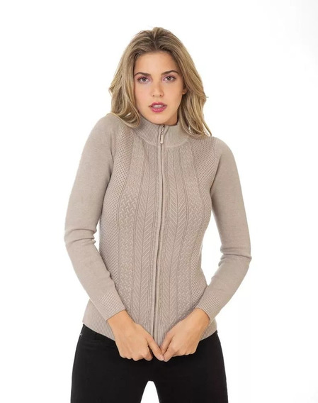Sweater Capricho Mujer Beige Spandex Cns 128