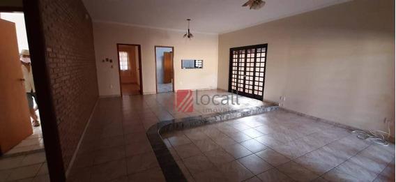 Casa Com 3 Dormitórios Para Alugar, 262 M² Por R$ 3.000,00/mês - Jardim Bosque Das Vivendas - São José Do Rio Preto/sp - Ca2375
