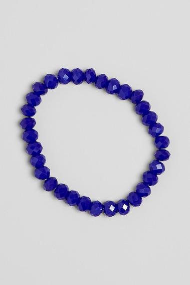 Pulseira Cristal Reserva Mini - Color Azul Royal