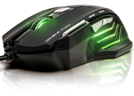 Mouse Gamer Iluminação Rgb Com Fio 3200dpi Ps4 Pc Xbox Tv