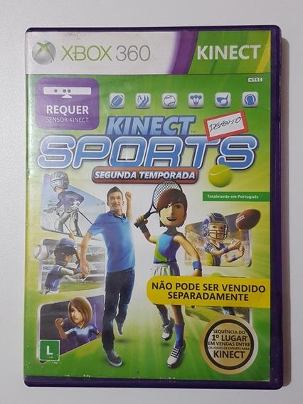 Kinect Sports Segunda Temporada Original Com Defeito Xbox360
