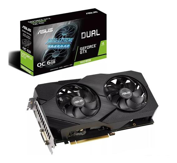 Placa De Video Asus Dual Gtx1660 Super Gddr6 6gb Oc Evo